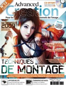 advanced creation numéro 12 couverture
